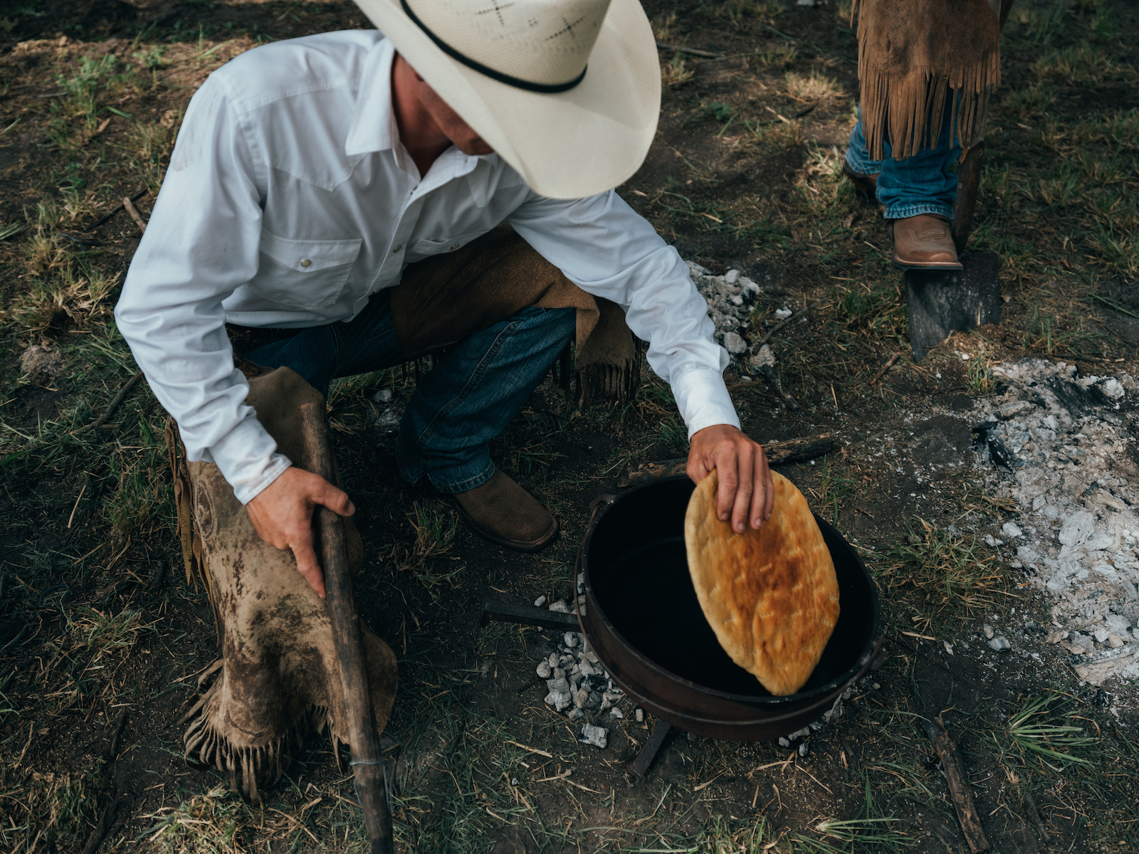 How to Make Pan de Campo, A Recipe for King Ranch Cow Camp Bread