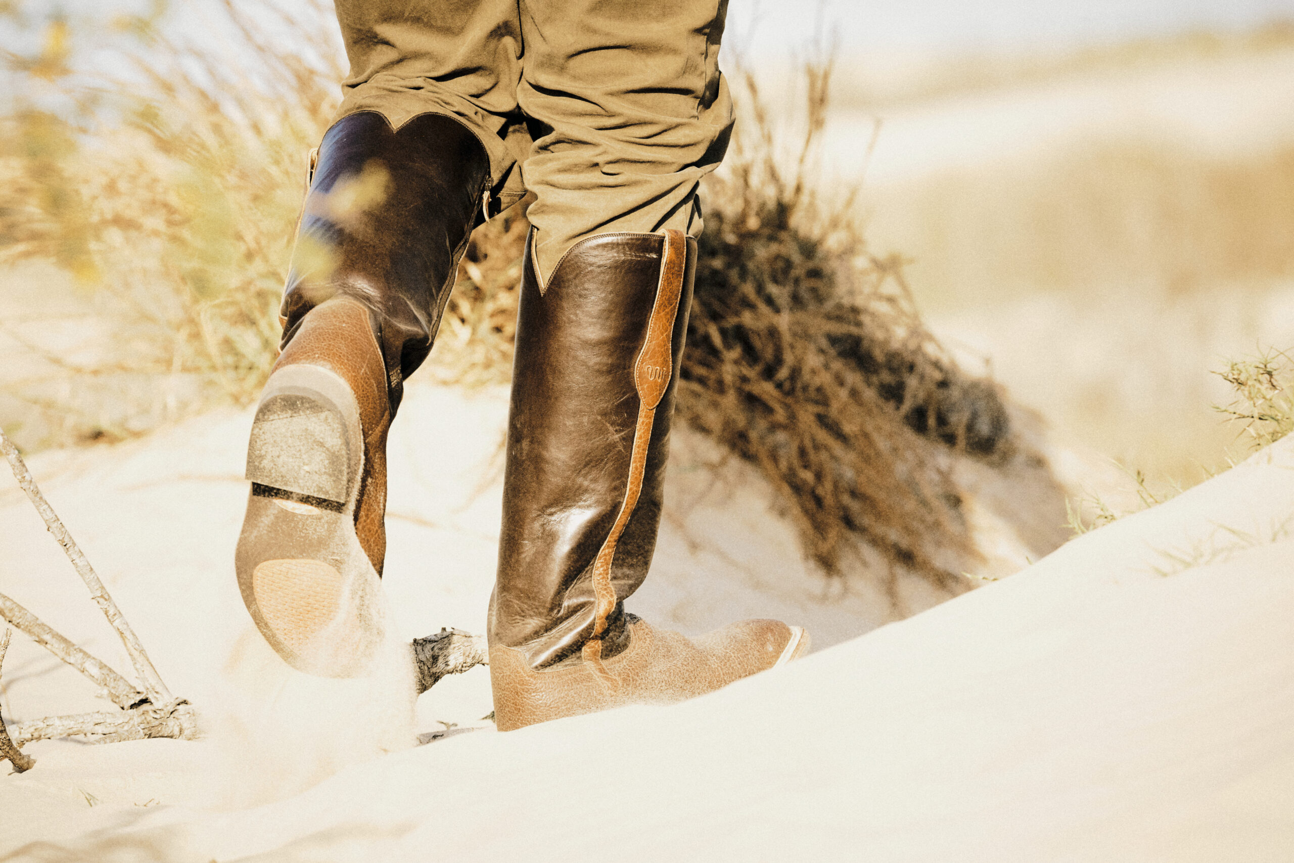 The Measure of a Boot: Field Testing the King Ranch x Lucchese Snake Boots with Covey Rise